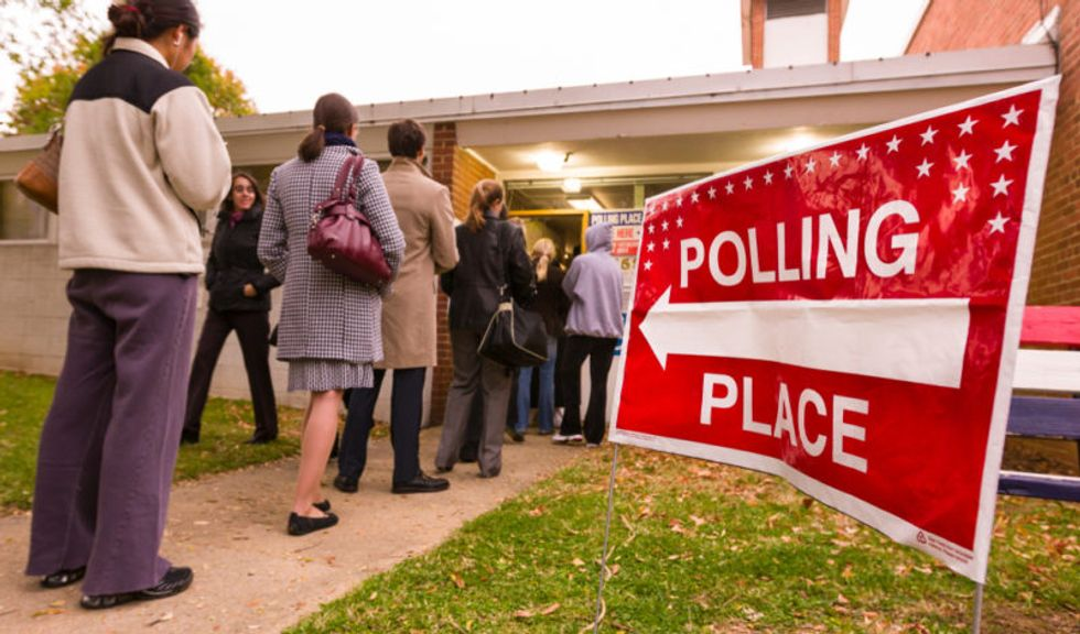 Voters turned away because voting machines were 'locked in a closet' in Detroit precinct