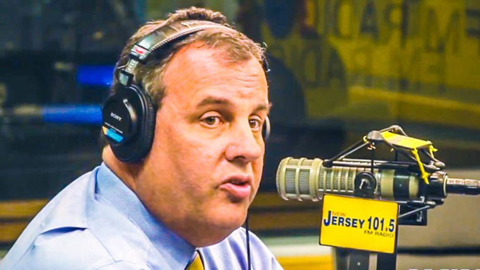 Chris Christie chides Rand Paul for being 'particularly sensitive' in Patriot Act dispute