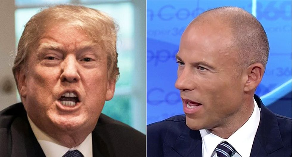 WATCH: MSNBC panelists explain how Michael Avenatti can destroy the president by 'out-Trumping' him