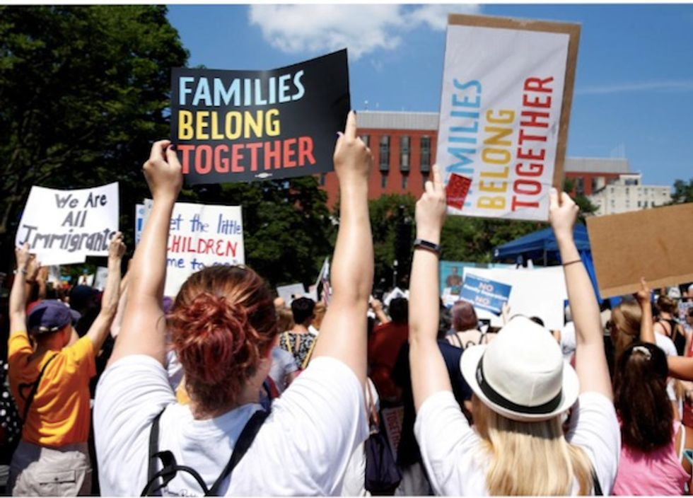 'Highly disturbing' Pentagon document shows US military surveilling groups protesting family separation