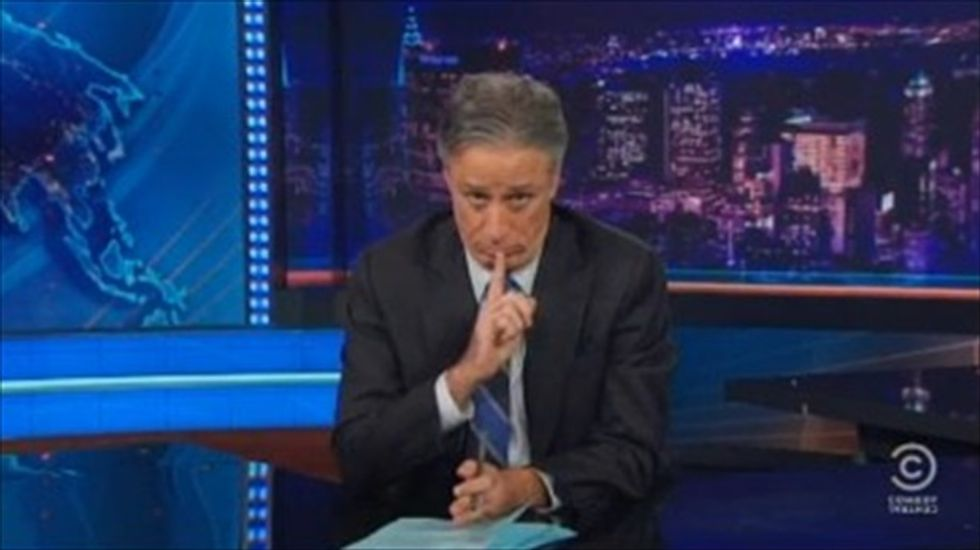 Jon Stewart: Republicans' idea of a 'rational argument' is scaring seniors with Ebola