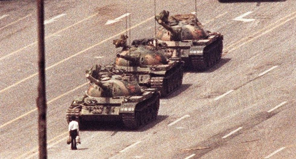Silence, US tensions mark Tiananmen 30th anniversary in China