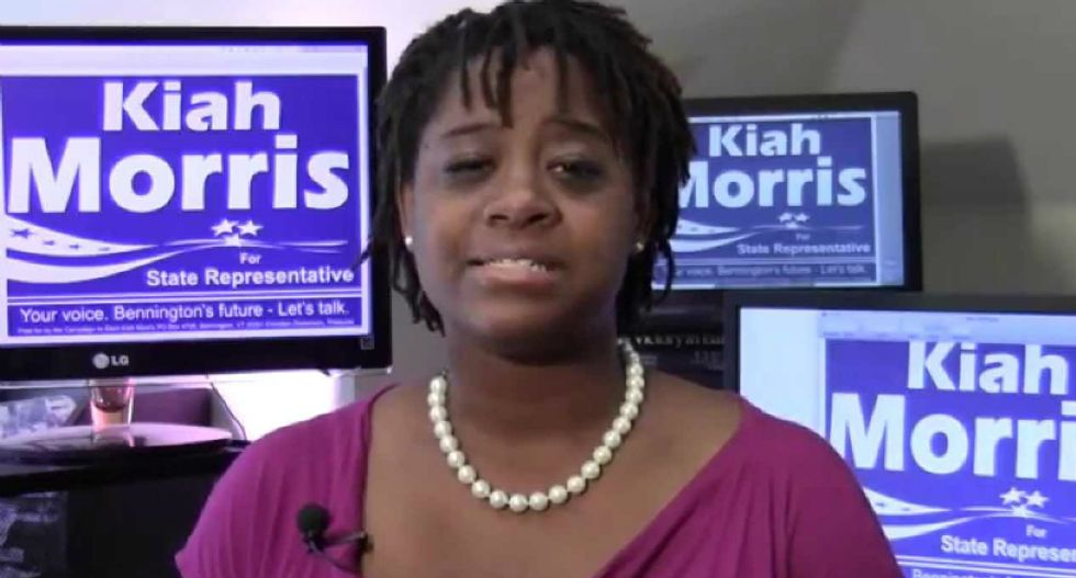 Vermont's only black woman state legislator drops out of race due to online threats and harassment