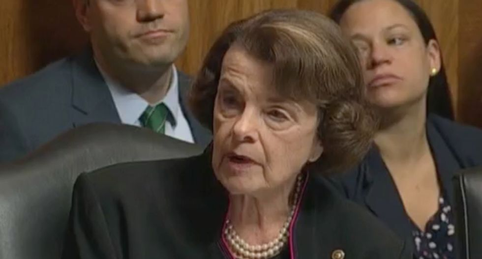 Dianne Feinstein shreds Kavanaugh by reading all the allegations against him: 'Is he the best we can do?'