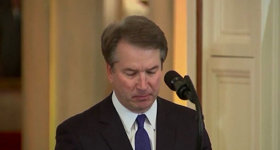 Kavanaugh assault accuser breaks silence: 'I thought he might inadvertently kill me'