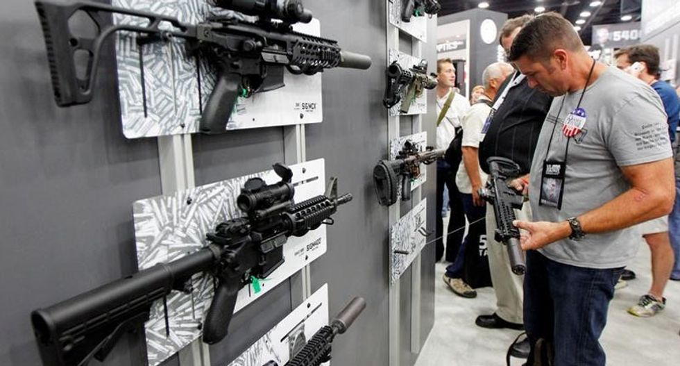 Americans are suffering from plague of mass shootings while US gun manufacturers are raking in big bucks