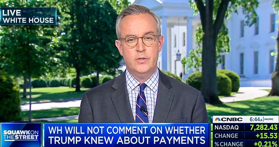 White House refuses to say if Trump knew about payments to Michael Cohen from firm linked to Russian oligarch