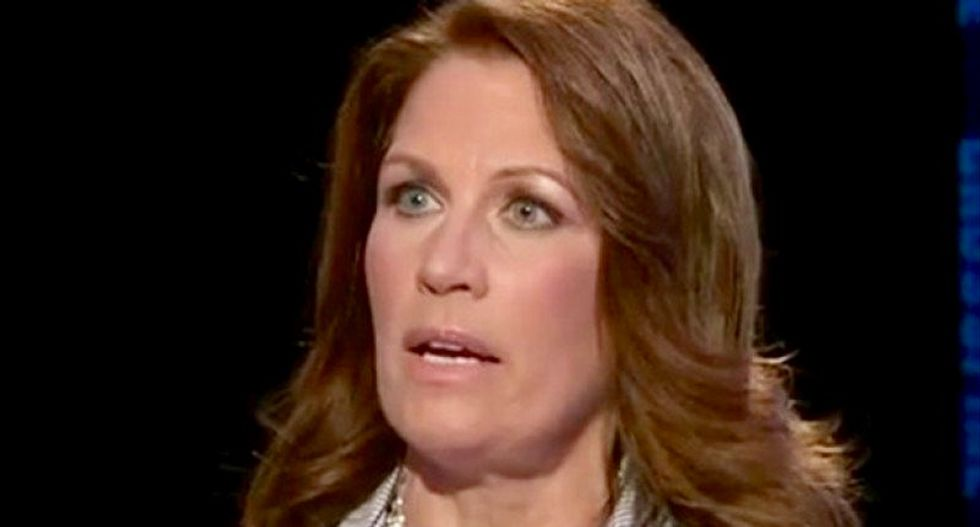 Michele Bachmann goes berserk: 'I ask God' to 'take your iron rod' and 'smash the delusion that Joe Biden is our president'