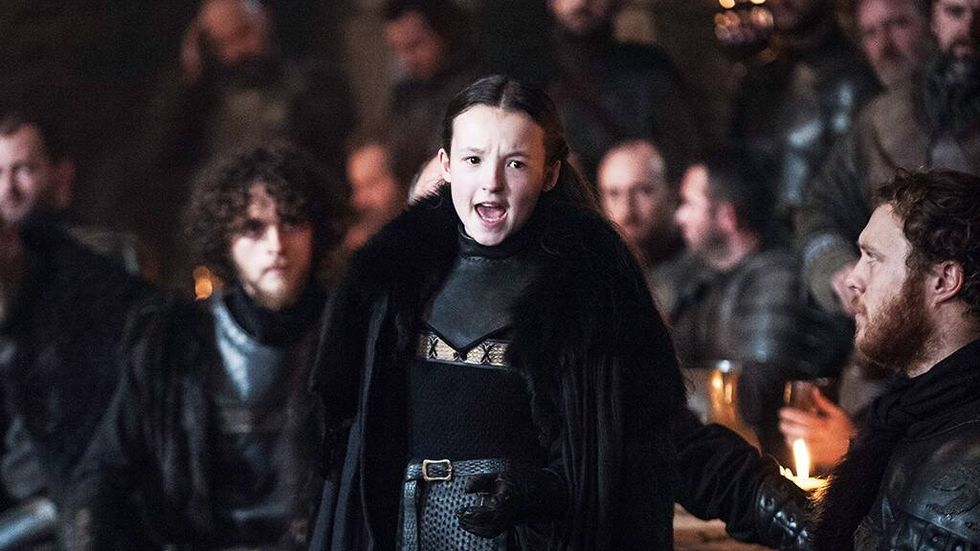 Tiny Lyanna Mormont 'did not refuse the call' in Game of Thrones' 'Battle of Winterfell'