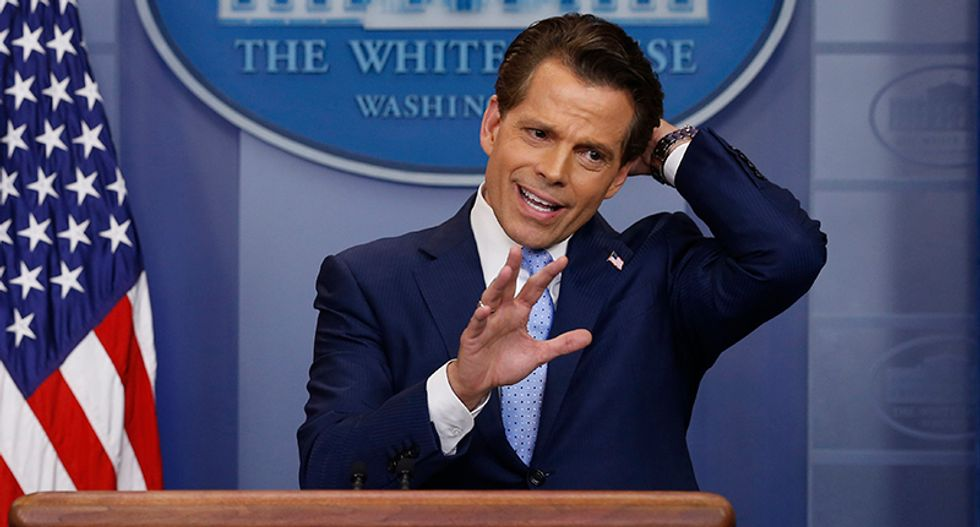 'Kill all the f*cking leakers': Scaramucci comes unglued after less than a week on the job