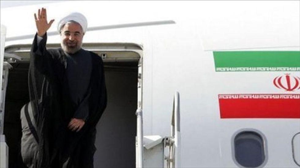 Iran's president promises 'good faith' in nuclear talks with U.S.