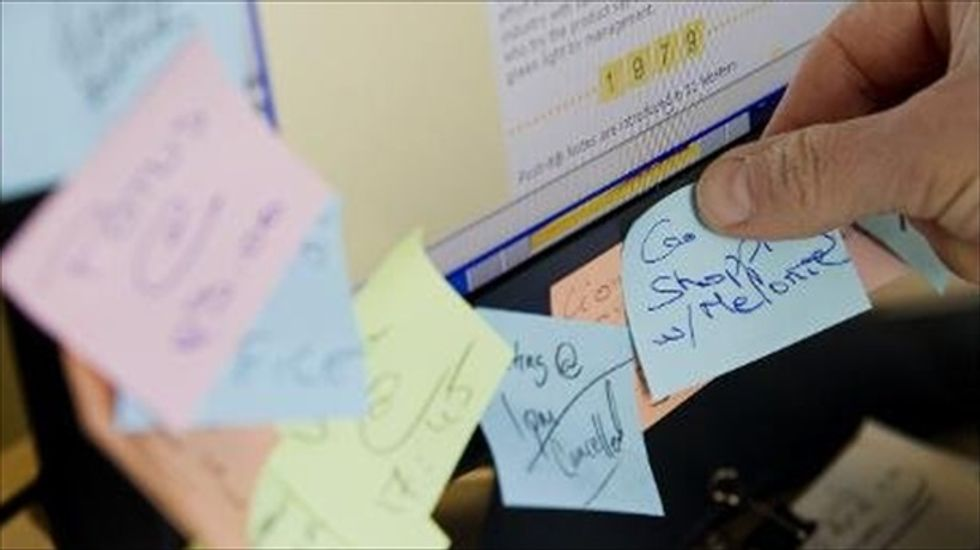 Post-it notes sticking around in new digital format