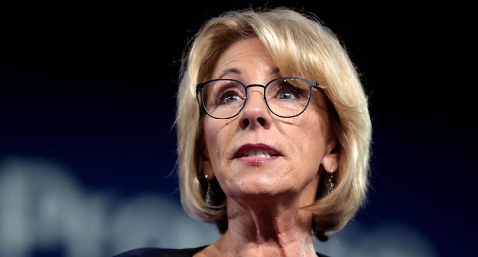 Education officials expect 'ineffective' Betsy DeVos to step down as her agenda collapses: report