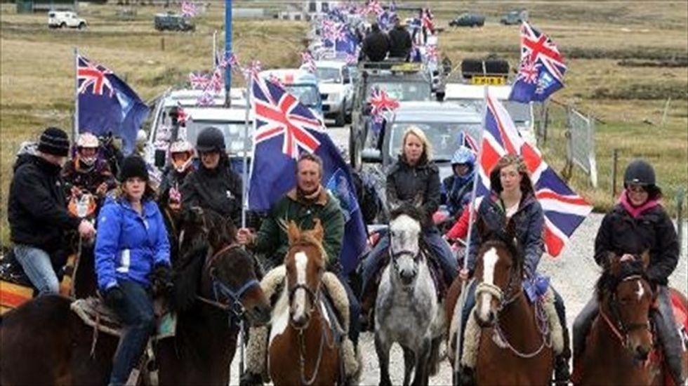 Spain denies Argentina's claims of a Falkland Islands ownership deal