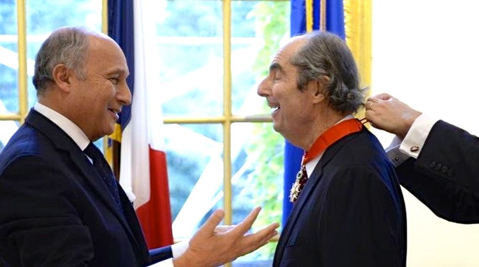 American writer Philip Roth awarded France's 'Legion of Honor'
