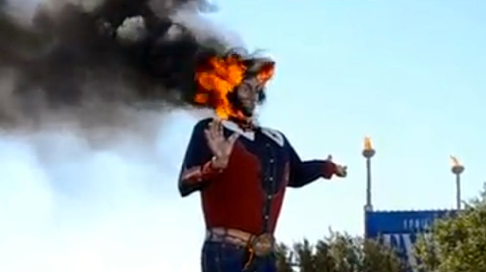 'Big Tex' is back: Texas state fair unveils world's largest mechanical talking cowboy