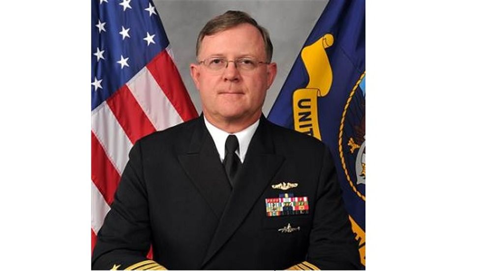 No. 2 nuclear commander in the Navy relieved in probe over fake gambling chips