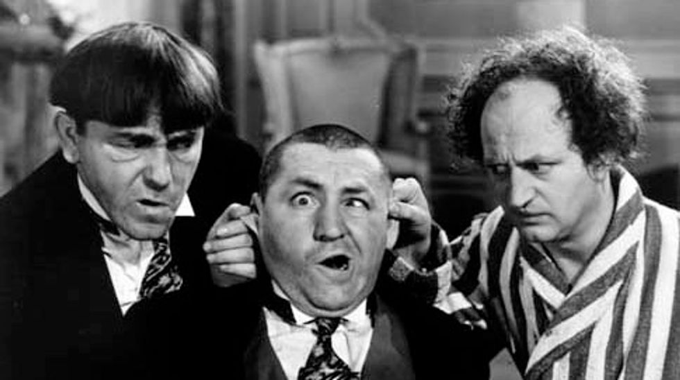 Missing 1933 Three Stooges film discovered in Australian garden shed