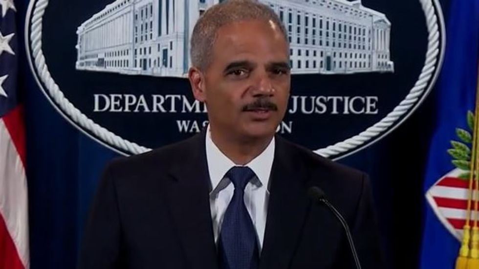 Holder: Restrictive North Carolina voting law 'an intentional attempt to break a system that was working'