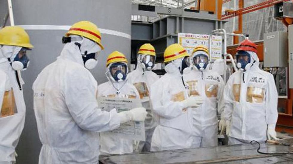 Groundwater radiation spikes at crippled Fukushima nuclear power plant