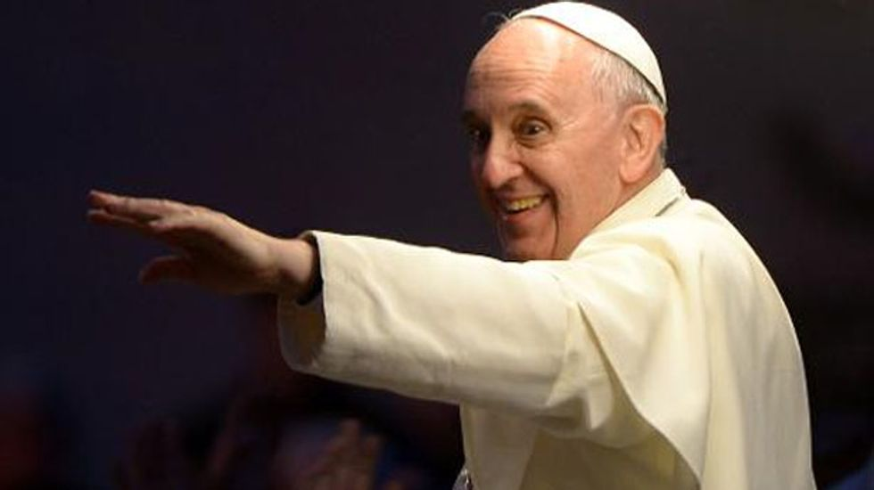 LGBT magazine names Pope Francis the 'most influential person of 2013'