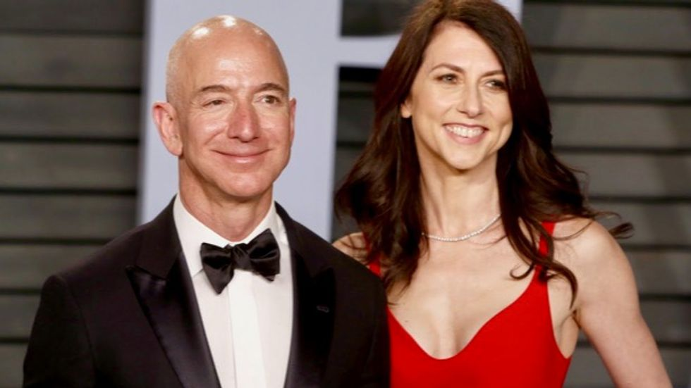 'I have a disproportionate amount of money to share': MacKenzie Bezos pledges half her fortune to charity