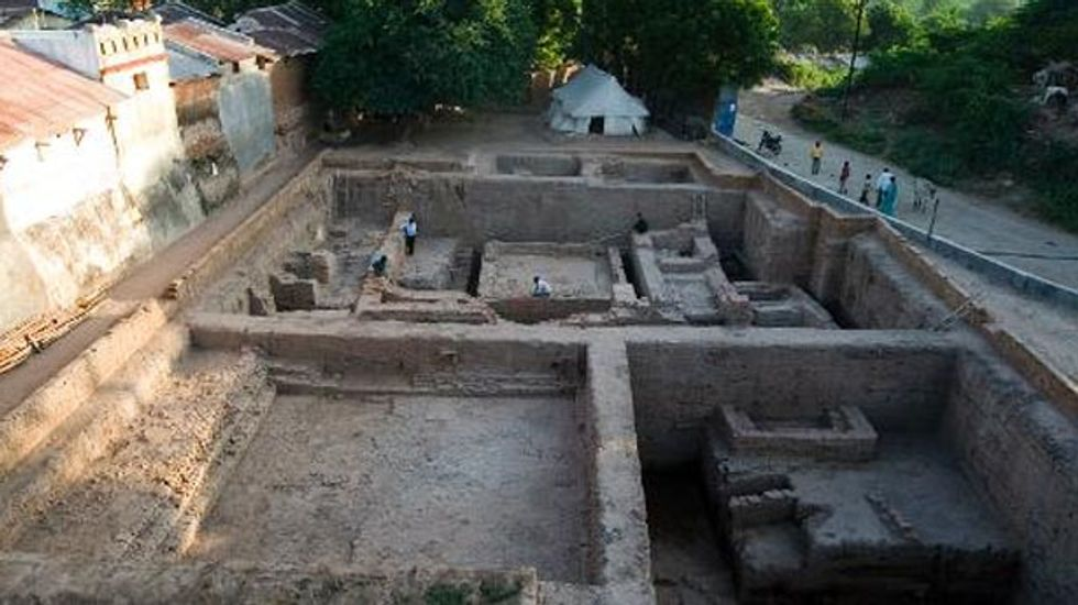 Archaeologists start dig in northern India after holy man dreams of hidden gold