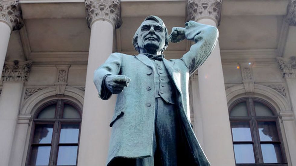 Statue of noted anti-Semite and white-supremacist to be removed from Georgia state capitol entrance