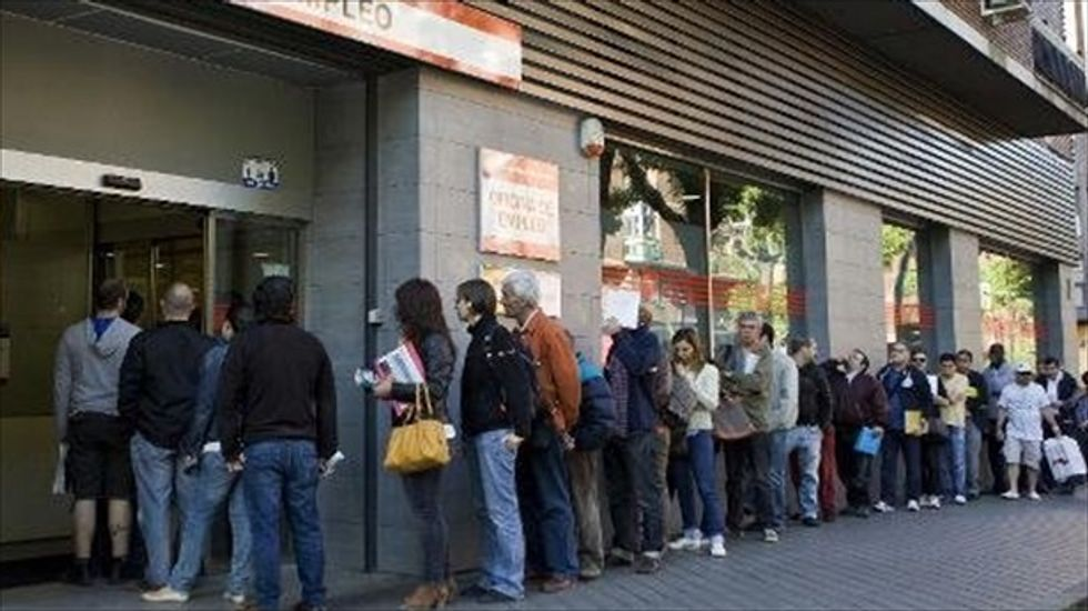 Spain's jobless now relying on pensioners to survive