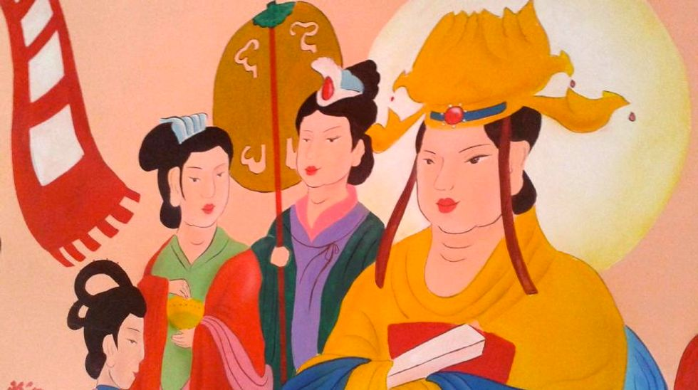 Outrage erupts over Buddhist temple fresco 'restored' by Chinese officials with cartoon-like paintings