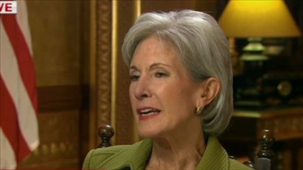 Sebelius defends Obamacare website performance: 'We're early in the first quarter'