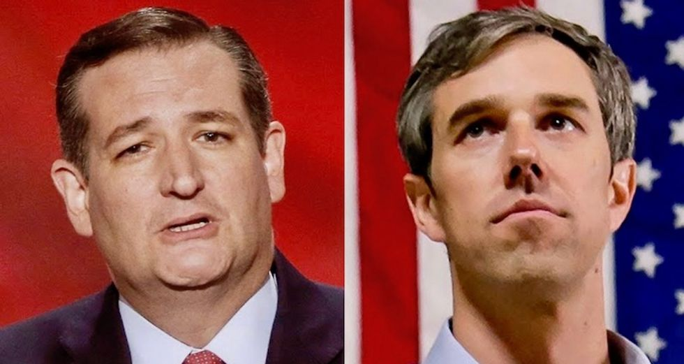 Ted Cruz leads Beto O'Rourke in new poll by nine points