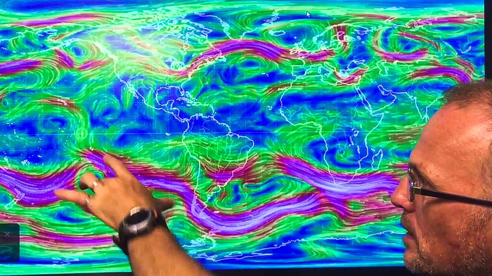 'Unprecedented': Scientists declare 'global climate emergency' after jet stream crosses equator