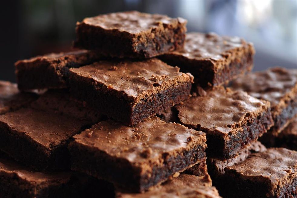 These awesome two-ingredient brownies are one baking hack that doesn't sacrifice on flavor