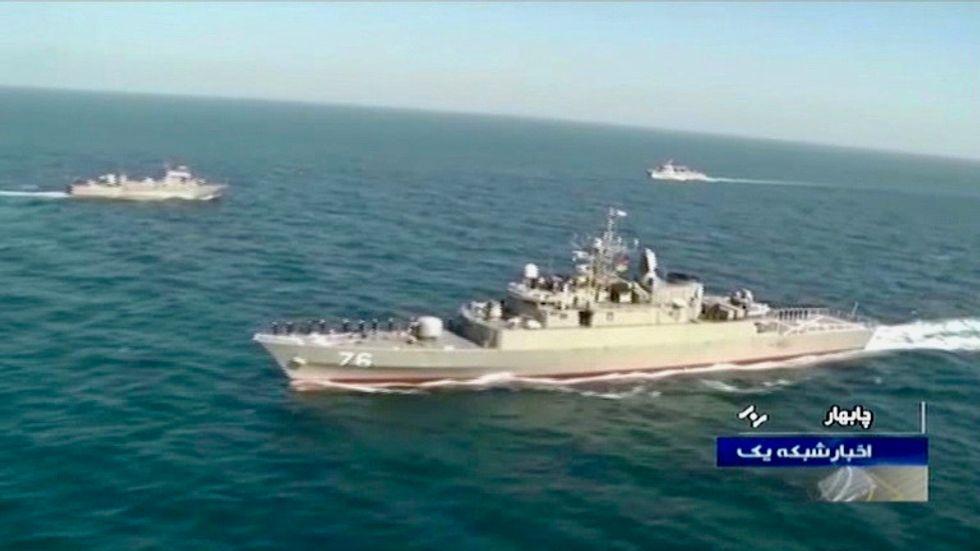 19 dead as Iran warship hit by 'friendly fire' in tense Gulf