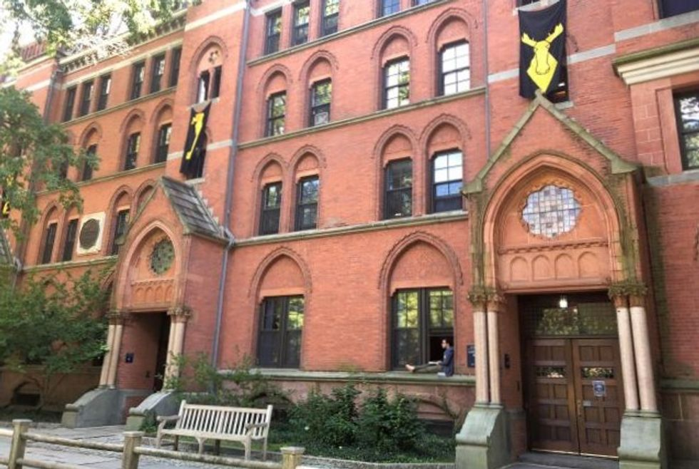 At Brett Kavanaugh's former school Yale, students transfixed by hearing