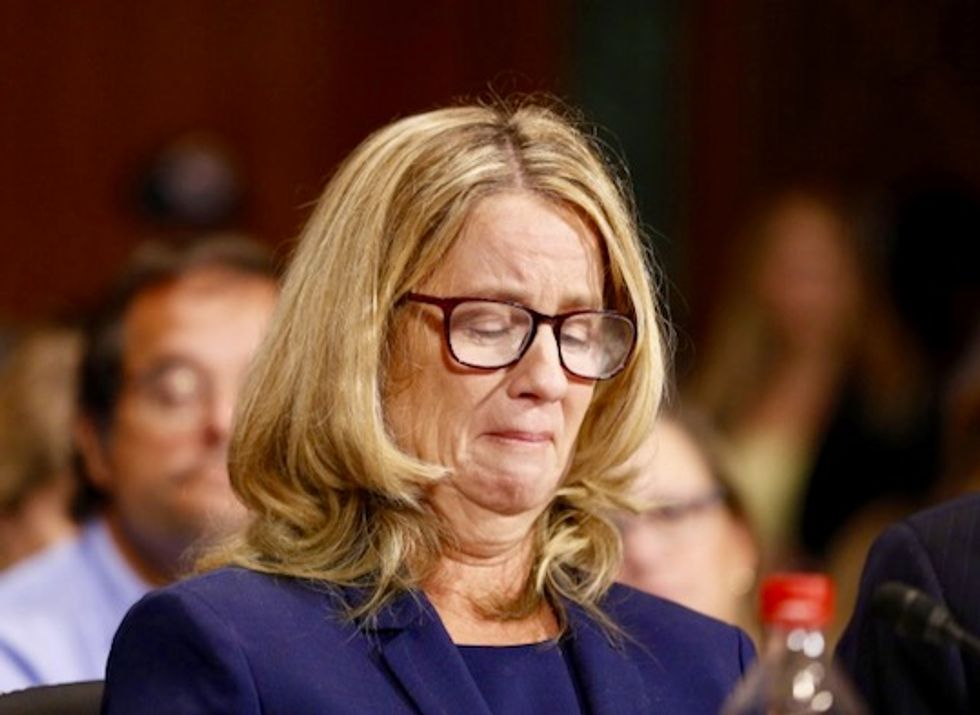 In #MeToo era, Christine Blasey Ford lauded on left and right as honest and brave