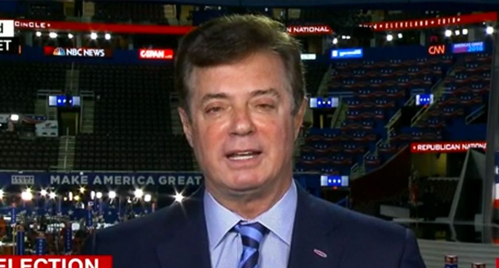 Manafort offered Russian oligarch with ties to the Kremlin 'private briefings' on status of Trump campaign: report