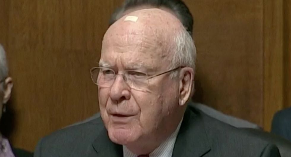 Patrick Leahy shreds Kavanaugh for lying under oath — and blasts GOP senators as 'a weak arm of the Trump White House'