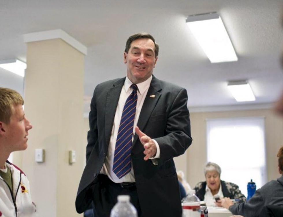 Potential swing vote Democrat Senator Joe Donnelly says will oppose US Supreme Court pick Kavanaugh