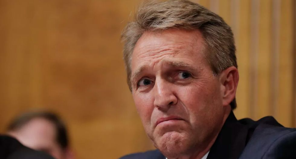 MSNBC's Kasie Hunt reveals why Jeff Flake defied GOP leadership and called for an FBI investigation of Kavanaugh