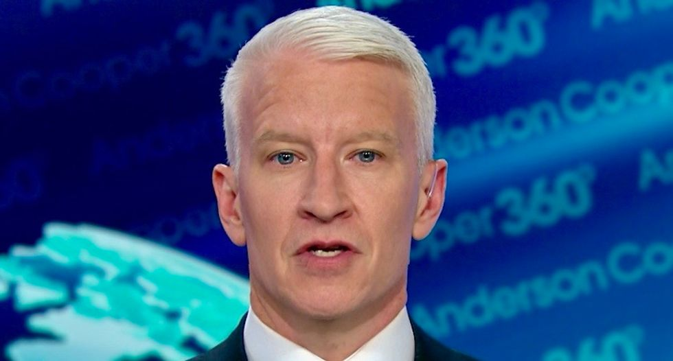 Anderson Cooper levels Trump's fixation on Biden: 'He should take his fingers off the Twitter machine'