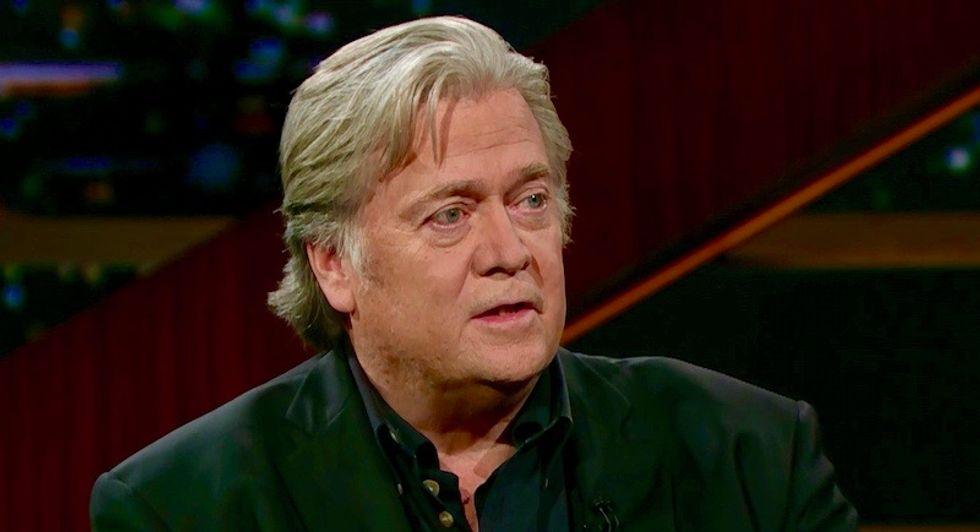 Steve Bannon tells HBO's Bill Maher that Michael Avenatti is the Democrat Trump should fear in 2020