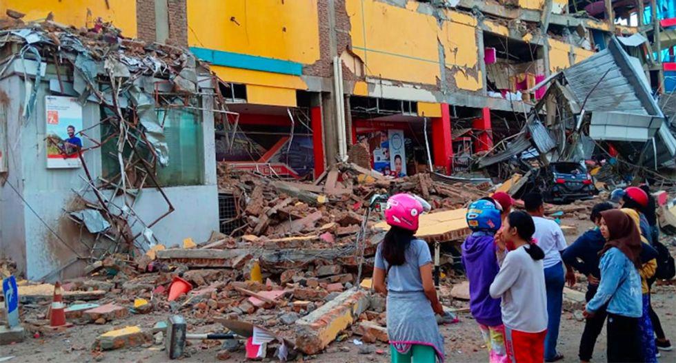 At least 384 killed in Indonesian quake, tsunami