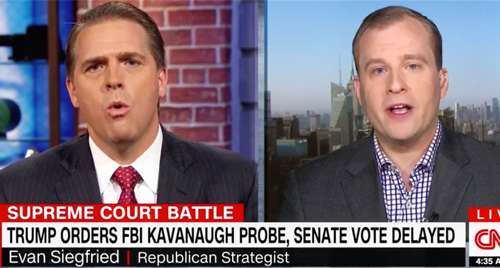 WATCH: Republican operatives rip into each other in battle over Kavanaugh's suitability to be on Supreme Court
