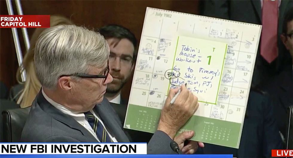 MSNBC panel explains why Kavanaugh's calendars have opened up a 'Pandora's box' of problems for judge