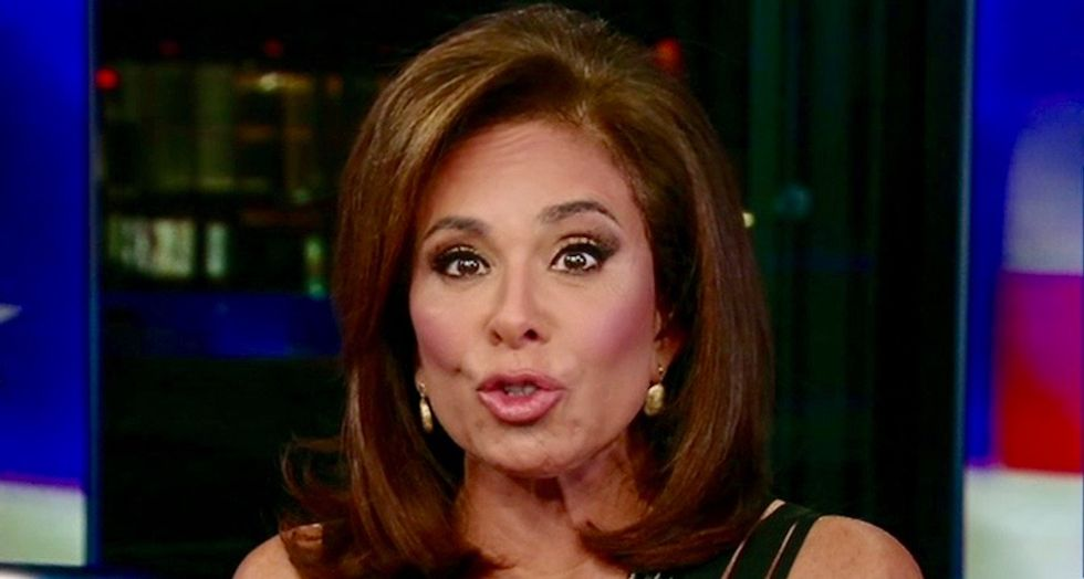 Fox News' Jeanine Pirro rants about 'crucifixion' of Brett Kavanaugh who was 'literally an altar boy'