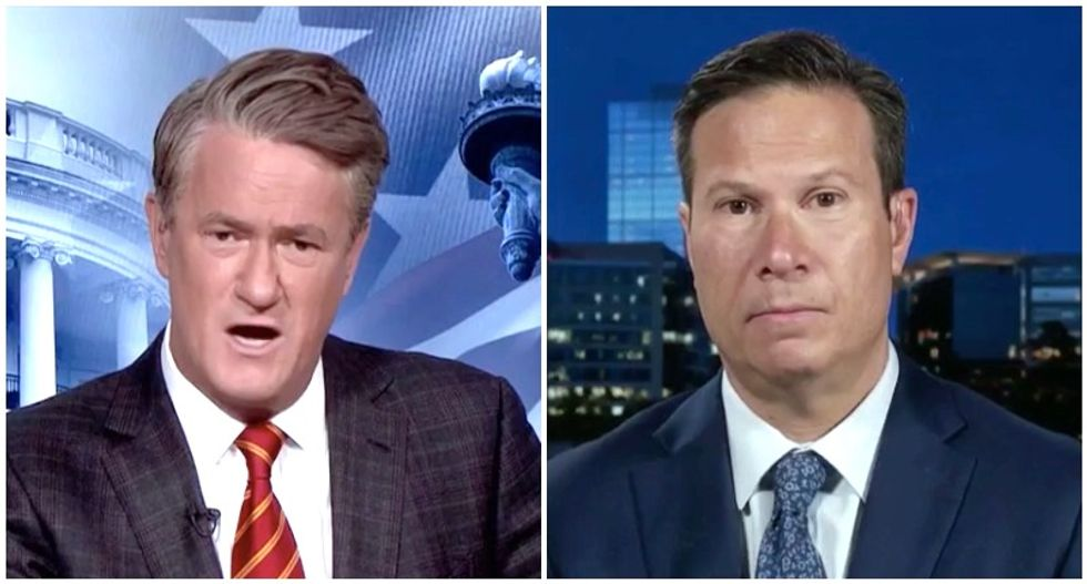 MSNBC's Morning Joe shocked when ex-FBI official reveals White House limits on Kavanaugh probe