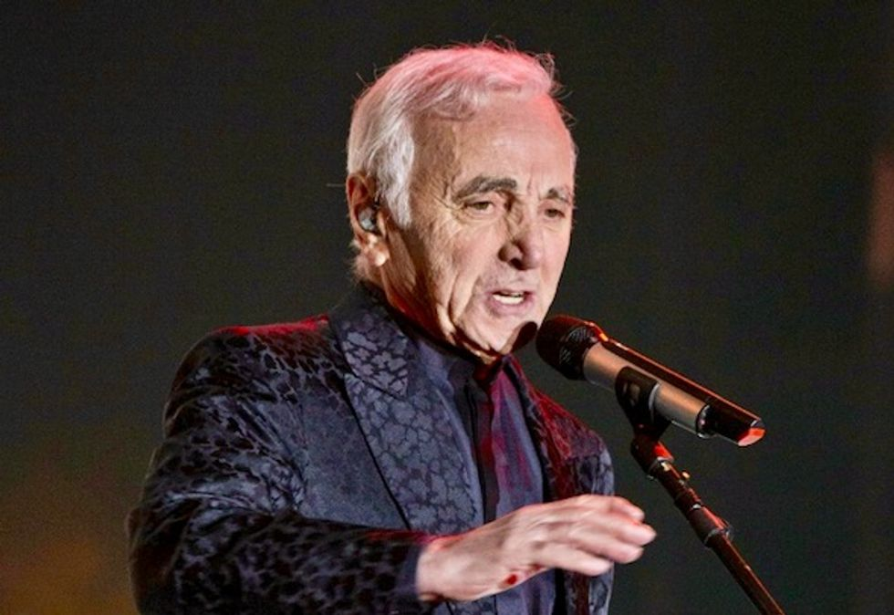 French singer Charles Aznavour dies aged 94: spokeswoman