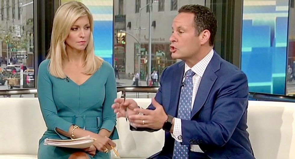 Panicky Fox & Friends hosts beg Trump to walk back invitation for foreign meddling in 2020 election